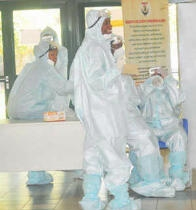 Ebola: Nurse, husband who escaped quarantine relocated to Lagos in special ambulance- Minister